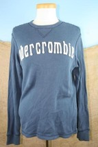 Abercrombie Boy's Long Sleeve Dark Blue Shirt Size XL - $7.90