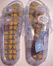 The Disney Store Winnie the Pooh Works Clear Plastic Kids Sandals Size 9... - $44.50