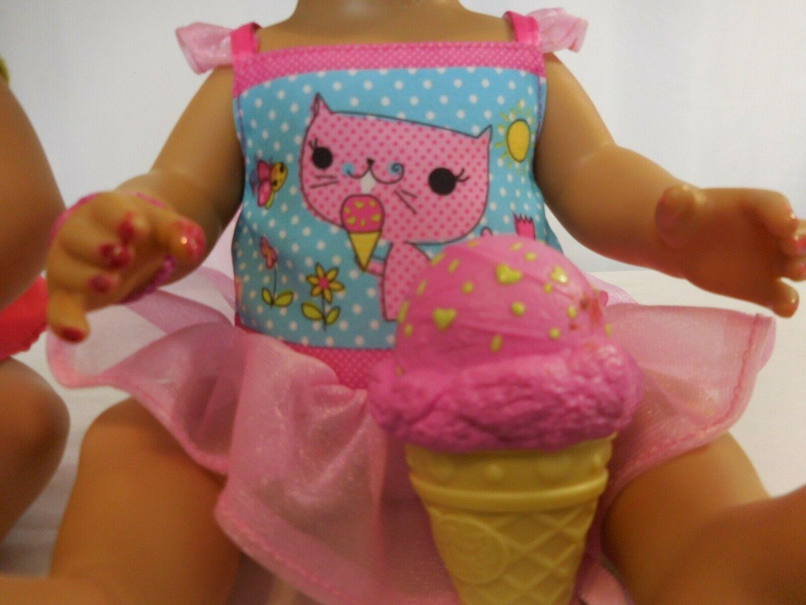 Baby Alive Hispanic Interactive Doll Eats & Poops + Yummy Treats Licks Ice Cream image 3
