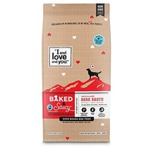 """I and love and you"" Baked & Saucy Grain Free Kibble Dry Dog Food with Gravy Coa"