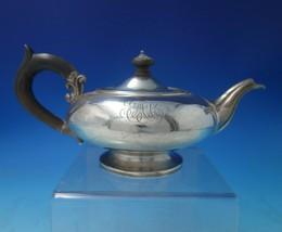 "Danish .934 Silver Tea Pot Individual w/Wood Handle and Finial 4"" x 8 1/... - $652.41"