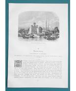 CHINA Views in Tien-tsin or Tjanjin - (7) Seven1883 Woodcut Illustrations - $9.71