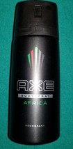 New 6 x  AXE BODY SPRAY AFRICA 150ml  BODYSPRAY DEODORANT  6 TIMES 6 DEO... - $24.99