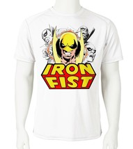 Iron Fist 2 Dri Fit T-shirt printed active wear retro comic UPF +50 Sun Shirt image 2