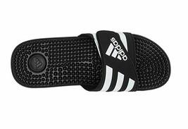 Adidas Adissage F35580 Black/White Slippers Men - $39.99