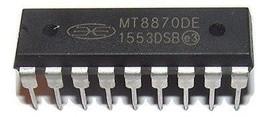 2PCS Mitel MT8870DE MT8870 - Integrated DTMF Receiver - New IC - $8.89