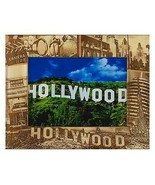 Hollywood California Laser Engraved Wood Picture Frame (5 x 7) - $30.00