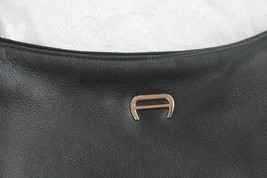 Etienne Aigner Buttery Soft Black Hobo Shoulder Purse Bag - $24.75