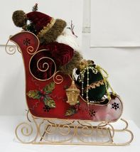 Sterling Brand Santa Riding Sleigh Christmas Decoration Product Number 5201012 image 3
