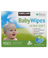 Kirkland Signature Baby Wipes Aloe & Chamomile 900-count  ULTRA SOFT - $19.99