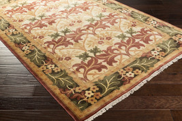 8x11 Arts & Crafts William Morris Style Hand Knotted 100% Wool Area Rug  - $3,495.00
