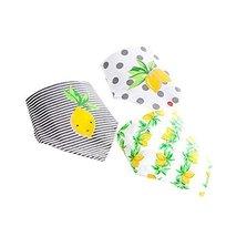 Lemon,Baby's Gift Lovley 3Pcs Adjustable Baby Neckerchief/Saliva Towel