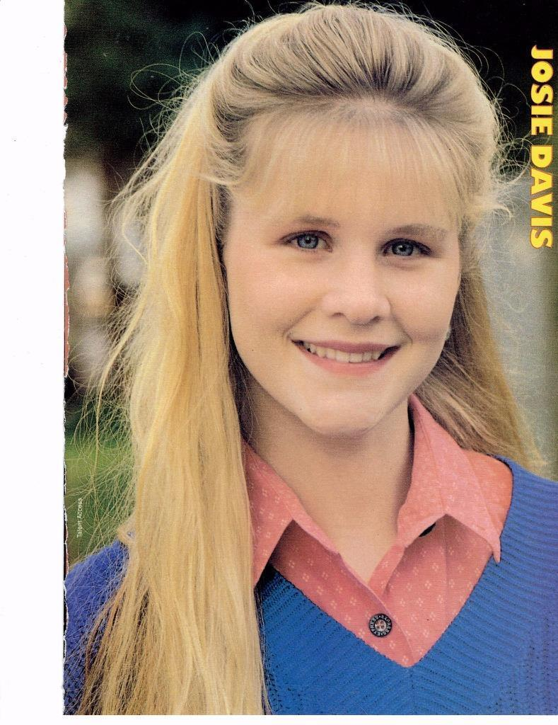 Josie Davis teen magazine pinup clippings Tiger Beat Charles in Charge