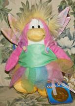 Disney Club Penguin Fairy Plush w Coin Series 4 Faery NWT New Tags Stuff... - $28.00