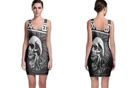 Bodycon Dress The Exploited Pushead Skull - $22.99+