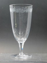 Rosenthal GOBLET glass  460-1 Hand engraved / cut - $17.60