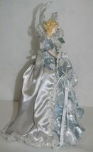 Generic  A11584 15 inch Silver Lace and Glitter Angel Tree Topper image 6