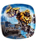 Transformers 2 Revenge of the Fallen Pocket Dessert Plates 8 Ct Birthday... - $5.45