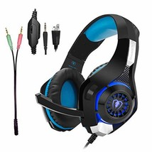 Gaming Headset for PS4|Tezewa Xbox One Gaming Headset|PC Gaming (Blue) - $28.97