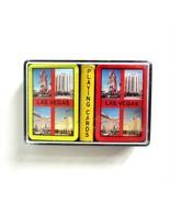 2 Mini Decks of Las Vegas Nevada Hotel & Casinos Playing Cards in Plasti... - $8.50