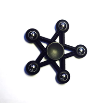 Five Star Fidget Spinner EDC Toy Relieves Stress - 1x w/Random Color and Design image 6