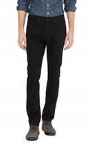 NWT Levi's 510 Skinny Slim Fit Jeans Pants Men's 29 X 32 Jet Black Cotto... - $37.40