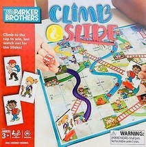 New Parker Brothers Climb & Slide Game, Ages 3+, 2-4 Players ~ Fast Free Ship ! - $9.78