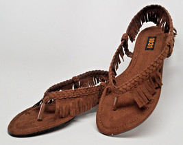 **>STORE CLOSING!  INDIAN GIRL SANDALS Children S Small Size 11/13 flat ... - $4.50