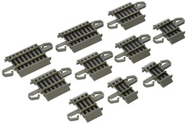E-Z Track Connector Assortment Scale: Ho 1:87 Nickel Silver Rail Gray Ro... - $26.40