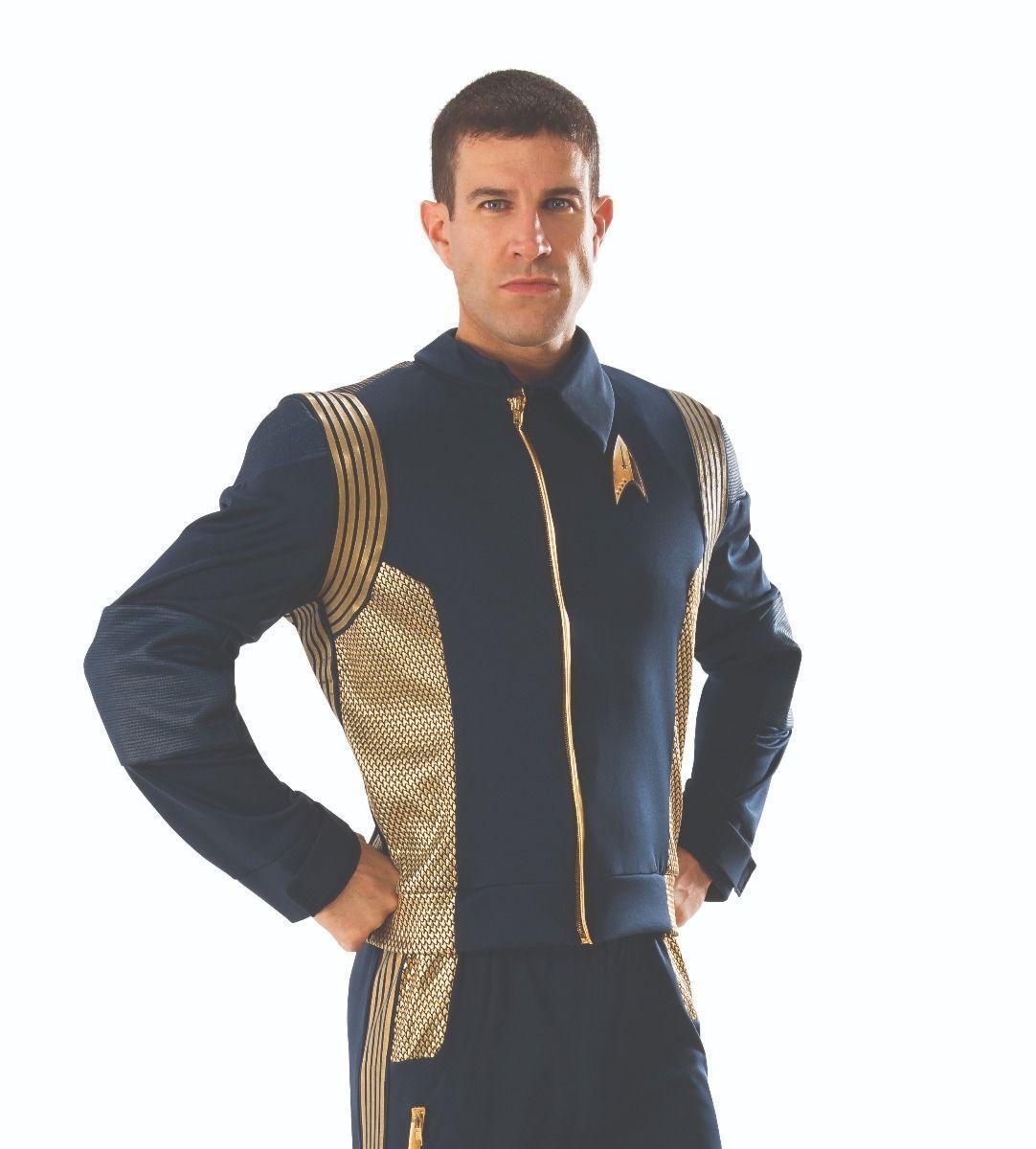 Rubies de Luxe Star Trek Discovery Command Veste Adulte Déguisement Halloween