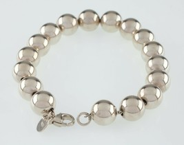 Tiffany & Co. Sterling Silver Bead Bracelet Great Condition Retail $300 - $197.99