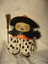 Bethany Lowe Startled Stella Witch Ornament by Robin Seeber Halloween image 1