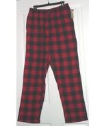 OPEN TRAIL FLANNEL LOUNGE/SLEEP PANTS SIZE M-L-XL-2XL RED BROWN GREEN DE... - $16.98