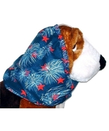 Patriotic Fireworks Sparkle Cotton Dog Snood Ba... - $12.50