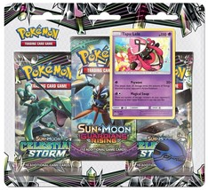Pokemon Celestial Storm Blister Pack Tapu Lele Promo 3 Booster Packs Sun... - $18.99