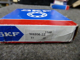 SKF W6208-2Z Radial/Deep Groove Ball Bearing Round Bore W 6208-2Z New image 2