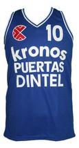 Drazen petrovic kronos puertas euro basketball jersey blue   1 thumb200