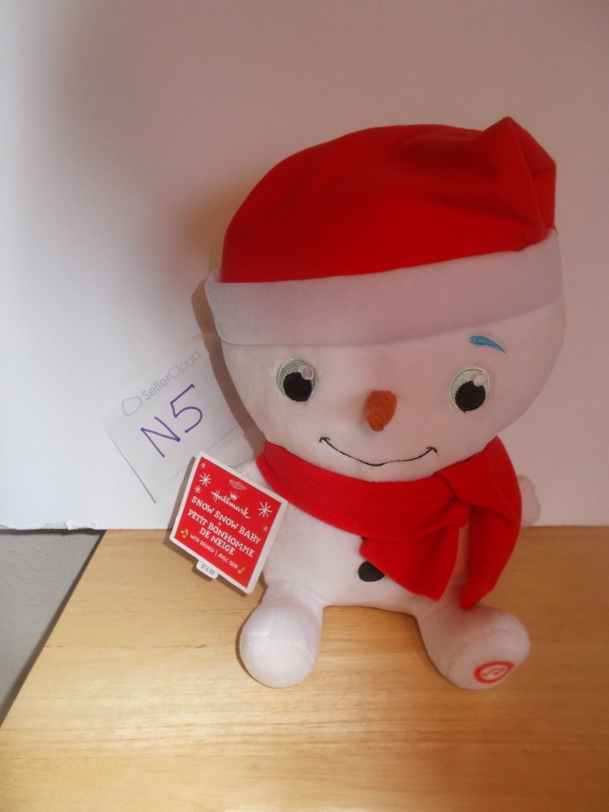 Primary image for Hallmark Snow Snow Baby with sound, NWT