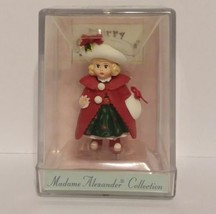 Merry Miniatures - Madame Alexander Collection -  Christmas Holly 1998 - $9.85