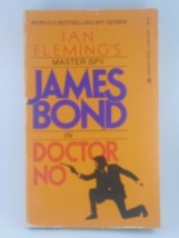 JAMES BOND Doctor No by Ian Fleming 1984 paperback book - $4.50
