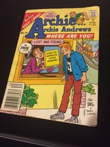 Archie... Archie Andrews Where Are You? Comics Digest Magazine #70 October 1990 - $1.98