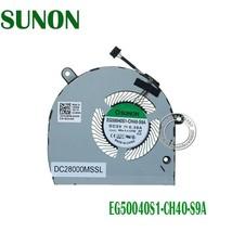 New EG50040S1-CH40-S9A Cooling Fan 4Pin DC5V 0.38A for Dell Latitude 5500 DPN:01 - $24.50