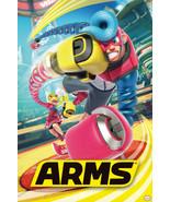 "Arms Nintendo Switch Video Gaming Gamer Poster 24"" x 36"" FREE SHIP - $19.88"