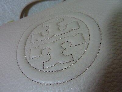 NWT Tory Burch Light Oak Leather Bombe Chain Cross Body Bag $395