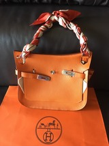 Authentic HERMES Taurillon Clemence Jypsiere Gypsy 28 Shoulder Bag NEW - $7,299.99