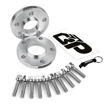 20mm Hub Centric 66.6 CB Wheel Spacers For 94-17 Audi A4 A6 5x112 M14x1.5 S4 S6 - $75.00