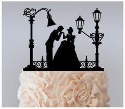 Ca50 Wedding,Birthday Cake topper,Cupcake topper,silhouette cinderella : 11 pcs - $20.00
