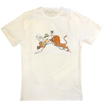 Tintin in the congo t-shirt  X-LARGE Official Tintin Product Moulinsart