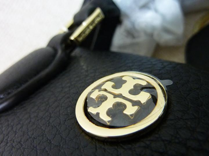 NWT Tory Burch Black Pebbled Mini Robinson Dome Cross Body Bag  - $395