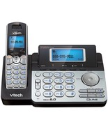VTech DS6151 DECT 6.0 Cordless 2-Line Phone System with Digital Answerin... - $95.61